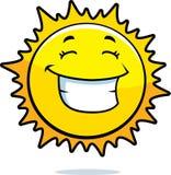 Het Glimlachen van de zon Stock Afbeeldingen
