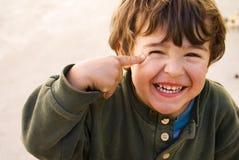 Het glimlachen van het jonge geitje Royalty-vrije Stock Fotografie