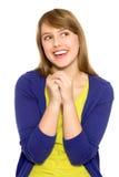 Het glimlachen van het meisje Stock Foto