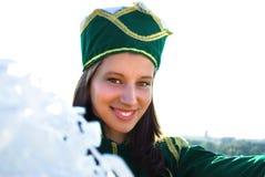 Het glimlachen van Majorette Royalty-vrije Stock Foto