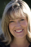 Het glimlachende Mamma van het Voetbal Royalty-vrije Stock Foto