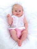 Het glimlachende Meisje van de Baby stock foto's
