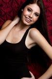Het glimlachende Meisje van de Tiener royalty-vrije stock afbeeldingen