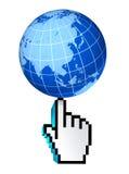 Het globale China Japan Korea Web van Azië en de Stille Oceaan van Internet Royalty-vrije Stock Foto