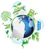 Het globale Concept van het Behoud. stock illustratie