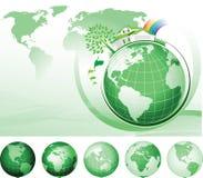 Het globale Concept van het Behoud vector illustratie