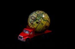 Het globale Concept van het Ladingsvervoer Royalty-vrije Stock Fotografie