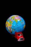 Het globale Concept van het Ladingsvervoer Stock Afbeeldingen