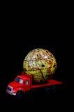 Het globale Concept van het Ladingsvervoer Stock Afbeelding
