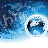 Het globale Concept van het Netwerk royalty-vrije illustratie