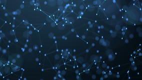 Het globale sociale concept van de netwerkverbinding stock videobeelden