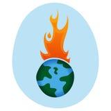 Het globale Verwarmen - royalty-vrije illustratie