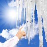 Het globale verwarmen Stock Afbeeldingen