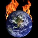 Het globale verwarmen Royalty-vrije Stock Foto