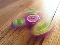Het gloeien friemelt Spinner Royalty-vrije Stock Foto's