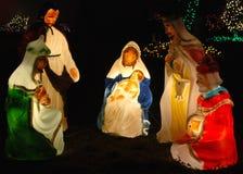 Het gloeien Geboorte van Christus royalty-vrije stock foto's