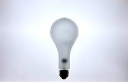 Het gloeien Gloeiende Lightbulb Royalty-vrije Stock Afbeelding