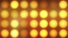 Het gloeien lichten, lijn stock footage