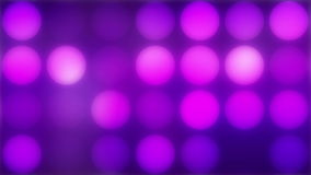 Het gloeien lichten, lijn stock video