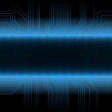 Het gloeien technologieontwerp Stock Afbeelding