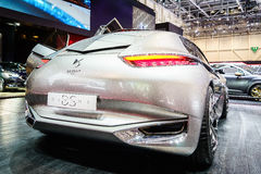 Het Goddelijke DS Concept van Citroën, Motorshow Genève 2015 Stock Foto's