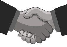 Het goedgekeurde werk van de partnercontrole hand Royalty-vrije Stock Afbeelding