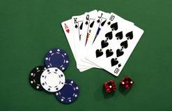 Het gokken Royalty-vrije Stock Foto's