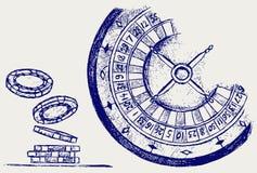 Het gokken vector illustratie