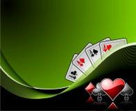 Het gokken achtergrond Royalty-vrije Stock Foto's