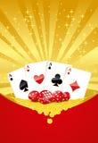 Het gokken achtergrond Stock Fotografie