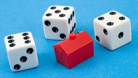 Het gokken is een zonde Royalty-vrije Stock Afbeelding