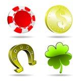 Het gokken element Royalty-vrije Stock Afbeeldingen
