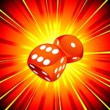 Het gokken illustratie Stock Afbeelding