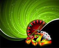 Het gokken illustratie Royalty-vrije Stock Afbeeldingen