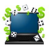 Het gokken op Internet Royalty-vrije Stock Fotografie