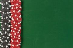 Het gokken spaandersachtergrond Stock Afbeelding