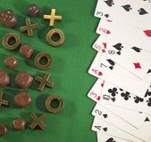 Het gokken thema 4 Stock Foto