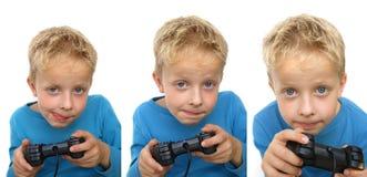 Het gokken van het kind Stock Foto's