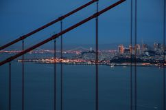 San Francisco Golden Gate Brid royalty-vrije stock afbeeldingen