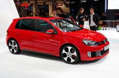 Het Golf GTI van Volkswagen Stock Afbeeldingen