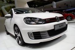 Het Golf GTI van Volkswagen stock foto