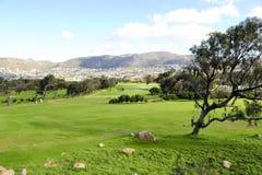 Het golfcursus van Clovelly Royalty-vrije Stock Fotografie