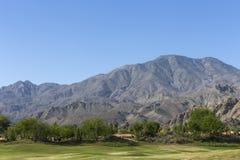 Het golfcursus van het Pgawesten, Palm Springs, Californië Royalty-vrije Stock Fotografie