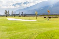 Het golfcursus van Oostenrijk Stock Afbeeldingen