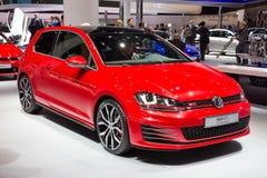 Het golfgti van Volkswagen Royalty-vrije Stock Afbeeldingen