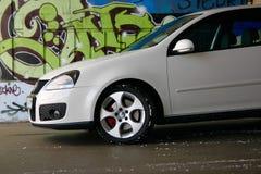Het golfgti van Volkswagen stock fotografie