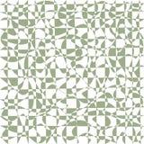 Het golvende lijnen vermenigvuldigd ineenstrengelen die, in bleke groenachtige kleur verdraaien Stock Afbeelding