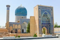 Het gor-Emir van het mausoleum in Samarkand Stock Afbeelding