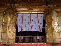 Het gordijn van de tempeldeur stock afbeelding
