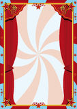 Het gordijn van het circus Royalty-vrije Stock Foto